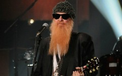 Above: ZZ Top guitarist/vocalist and Rock and Roll Hall of Fame inductee Billy Gibbons