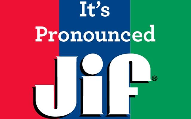 GIF is pronounced JIF