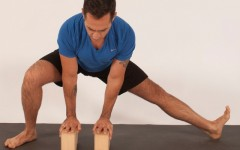 Learn how to perform an adductor/groin stretch (Photo credits: Glenn Gebhardt)