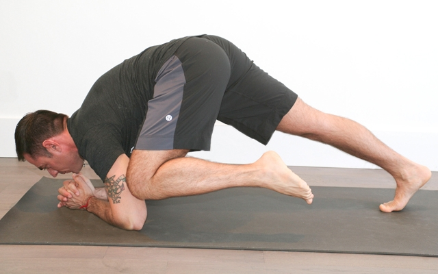 Learn how to strengthen your core (Photo credits: Glenn Gebhardt)