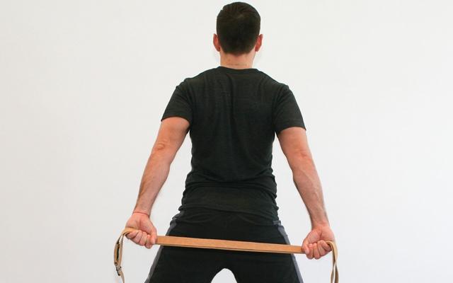 Jock Yoga Tutorial: Learn a new hamstring and shoulder stretch (Photo credits: Glenn Gebhardt)