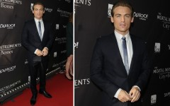 Kevin Zegers at the 'The Mortal Instruments: City of Bones' premiere in Toronto