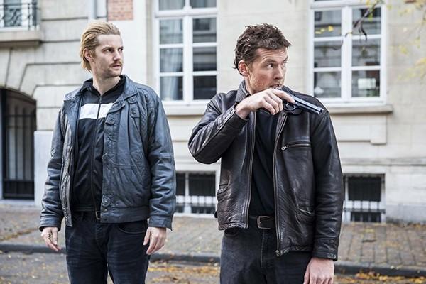 Above: Jim Sturgess and Sam Worthington as Cor van Hout and Willem Holleeder in 'Kidnapping Mr. Heineken'