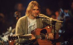Above: Kurt Cobain would probably hate that his cardigan sold for this much money