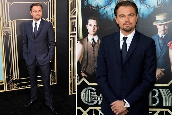 Leonardo DiCaprio at the Great Gatsby New York premiere