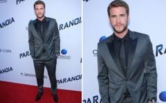 Liam Hemsworth at the LA premiere of 'Paranoia'
