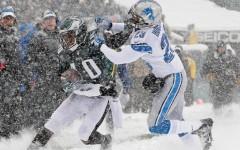 Above:  Philadelphia Eagles vs Detroit Lions at Lincoln Financial Field in Philadelphia, PA on Sunday December 8, 2013
