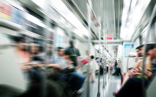 Make your morning commute more productive (Photo: gui jun peng/Shutterstock)