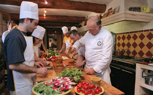 Above: Learning to cook in Italy will give you a better appreciation for the food and improve your knife skills (Photo courtesy of: The International Kitchen)