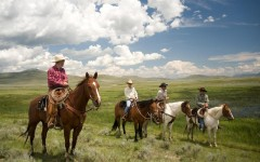 Above: Genuine cowboy experiences in Montana