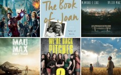 Above: The movies, music, books and games coming your way this May