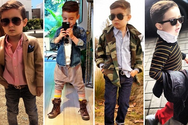 Meet the 5-year-old boy who's become an Instagram style icon