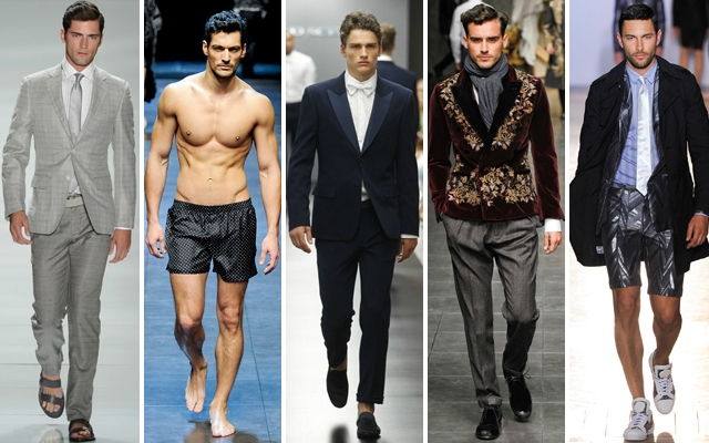 Meet the world's highest-paid male models of 2013