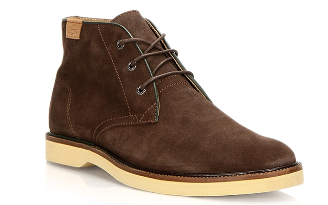 Above: The Lacoste Sherbrooke Hi 14, available at Browns locations across Canada this fall