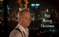 "Above: Bill Murray and Sofia Coppola team up for a holiday ""homage to the classic variety show"""