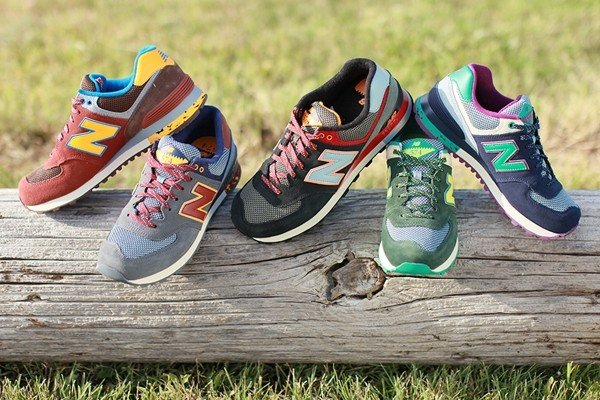Above: The New Balance 574 Woods Pack, an exclusive to Canada