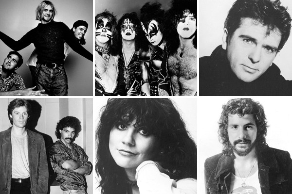 Above: The 2014 Rock and Roll Hall of Fame inductees (Photos courtesy of: Rock and Roll Hall of Fame Museum)