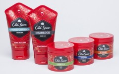 Above: Old Spice expands lineup into men's hair care