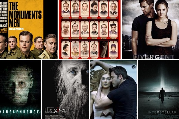 Above: 7 of AmongMen's most anticipated movies of 2014