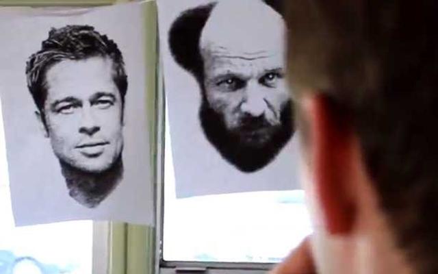 """Dove Real Beauty Sketches - Men"" (Screencap courtesy of: YouTube)"
