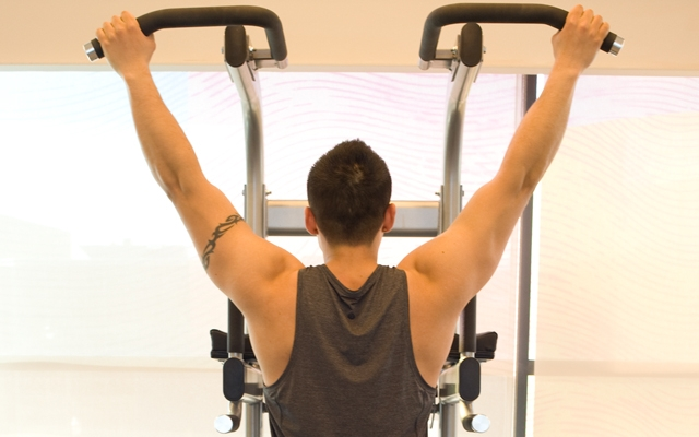 Learn how to perform a Wide Pull-Up (Photos by: Timothy Flynn - Dearhunter Photography)