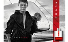 Above: German model Tim Schuhmacher stars in the Prada Luna Rossa Sport ad campign, shot by renowned fashion photographer Craig McDean