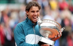 Rafael Nadal wins the French Open for a record eighth time (Photo: Getty Images)