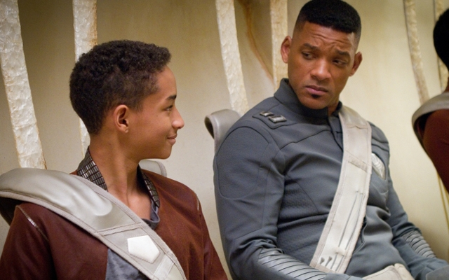 Above: Jaden and Will Smith star in After Earth, nominated for 5 Razzies