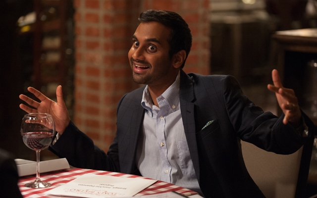 Above: Aziz Ansari's 'Master of None' is now streaming on Netflix