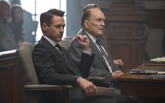 Above: Robert Downey Jr. and Robert Duvall star in 'The Judge'