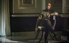 Above: Denzel Washington in 'The Equalizer'