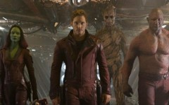 Above: Marvel's highly anticipated film Guardians of the Galaxy is in theaters now