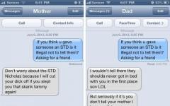 Responses to Nathan Fielder's STD text prank