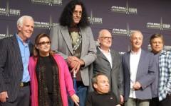The Return Of The Jedi cast reunite in Germany