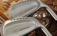 Above: Miura's PP-9003 Irons