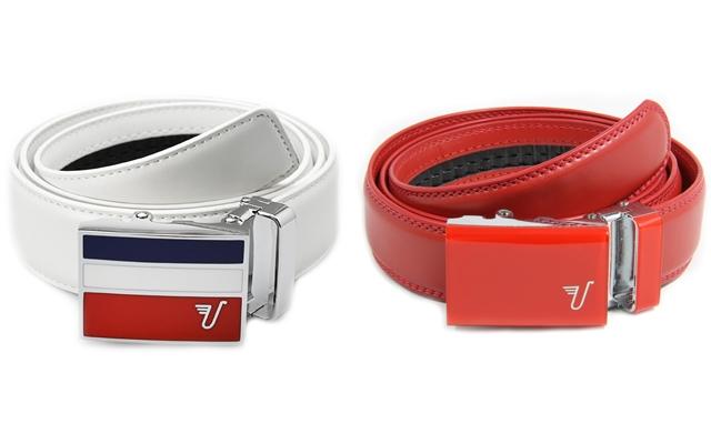 Above: Mission Belt Co.'s Americano and Ferrari belts