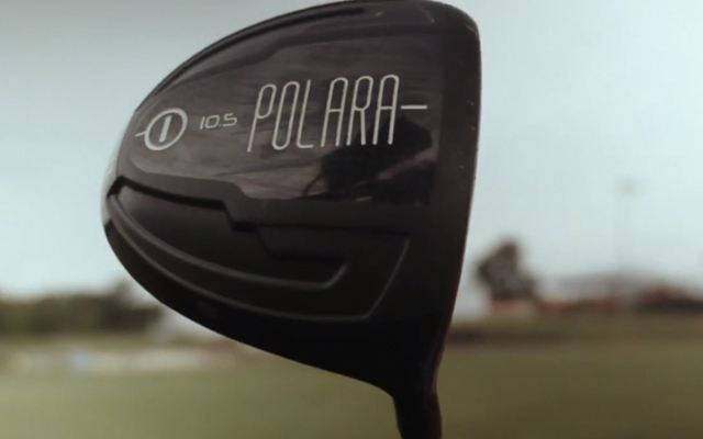 Above: The new Polara Golf Advantage Driver, designed to be the longest hitting driver in golf