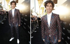 Robert Sheehan at the 'The Mortal Instruments: City of Bones' LA premiere