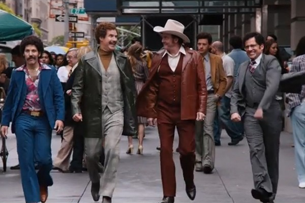 "The first full trailer for ""Anchorman: The Legend Continues"" has just landed online (Screen capture: YouTube)"