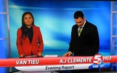 'F**king S**t' news anchor fired after first day on job (Screencap courtesy of: YouTube)