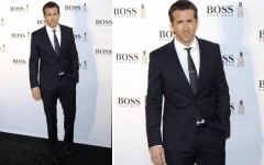 Ryan Reynolds at the Boss Bottled 15th anniversary party