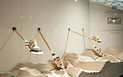 Hudson's Bay's Jack Purcells in a chic take on Canadian industry at Selfridges