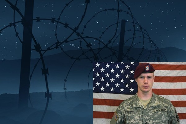 Above: This season, Serial investigates the case of Sgt. Bowe Bergdahl, a solider in the US Army who abandoned his post in the summer of 2009, only to be captured by the Taliban and held in captivity for nearly five years