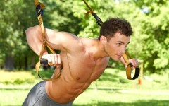 Want to take your work out outside? Attach TRX straps to a strong tree branch