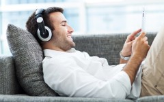 Above: Online music streaming service Spotify has officially launched in Canada (Photo: Edyta Pawlowska/Shutterstock)