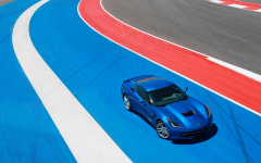 Above: Chevy's Corvette Stingray. D-troit!