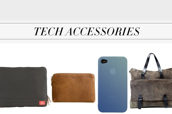 Above: Leaving the house with tech-style
