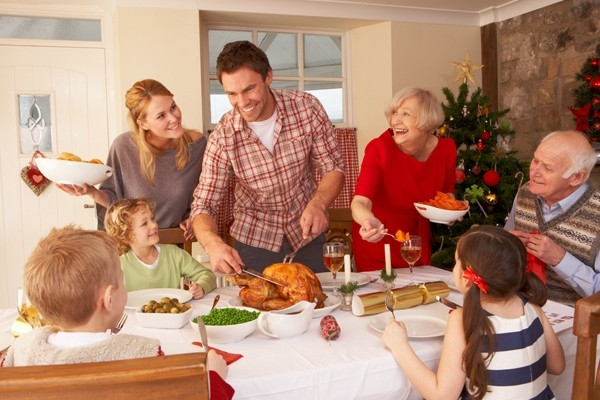 Above: Learn how to survive the first Christmas with your significant other's family