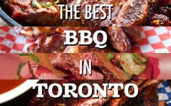 A few of our favourite BBQ restaurants in Toronto