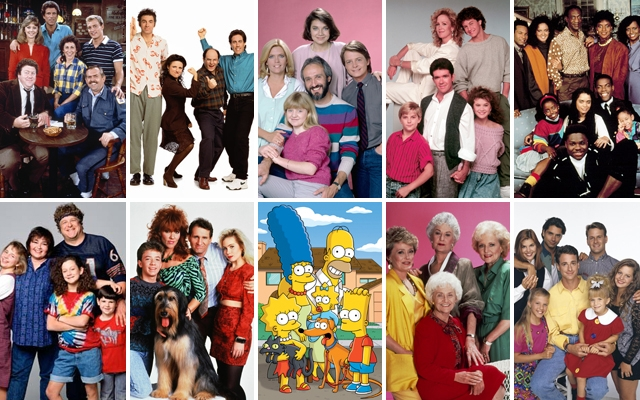 Above: 10 of our favourite sitcoms from the '80s